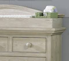 Pine Changing Table by Cosi Bella Luciano Dresser Changing Topper White Washed Pine