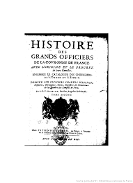 la chambre des officiers histoire des arts histoire de la maison royale de et des grands officiers de la