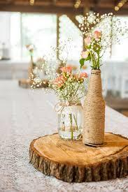 Table Centerpiece Ideas Rustic And Handmade Hunt Club Farm Wedding By Eyecaptures