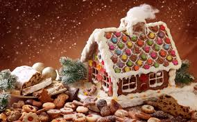 christmas gingerbread house christmas gingerbread house wallpapers