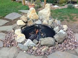 Fire Pit Liners by Metal Fire Pit Liner Fire Pit Design Ideas
