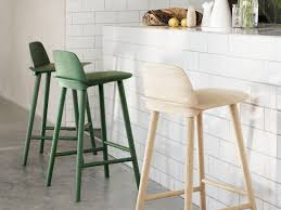 dining room fascinating eva heather counter bar stool muuto nerd