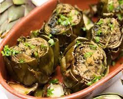 cuisiner les artichauts violets recette artichauts rôtis à l huile d olive facile rapide