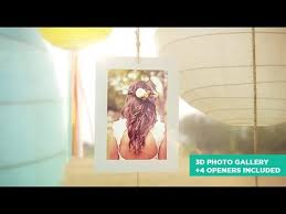 special event photo gallery after effects template not free