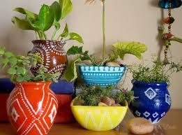 design decor disha an indian design decor blog anthropologie garden pots