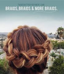 layer hair with ponytail at crown braiding with layers layering hair style and beauty department