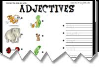 mes english com adjectives worksheets