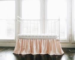 crib skirt etsy