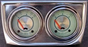 classic stewart warner gauges