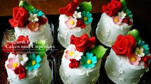 sugarpaste by myadyana mini cake drama queen