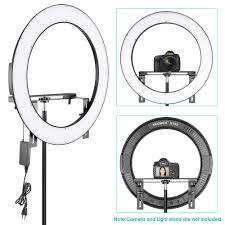 neewer led ring light neewer 19 inches ring light dimmable bi color led 192 led beads for