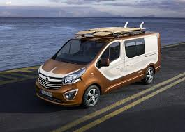 opel movano 2016 opel builds lifestyle oriented vivaro surf concept steeringnews