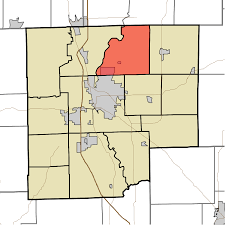 Shelby County Zip Code Map by Flat Rock Township Bartholomew County Indiana Wikipedia