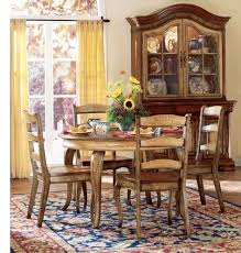 Contemporary French Country Dining Room Sets Farmhouse Table With - French country dining room