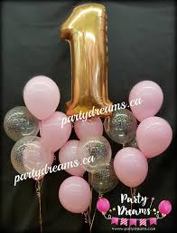 1st birthday balloon delivery 1st birthday balloons party dreams