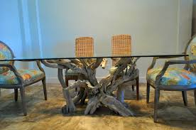 furniture adorable glass top tables driftwood decor grey metro