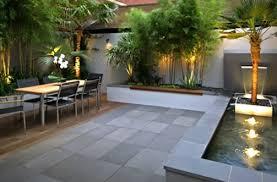 Backyard Space Ideas Extraordinary Contemporary Backyard Landscaping Ideas Dadka Modern