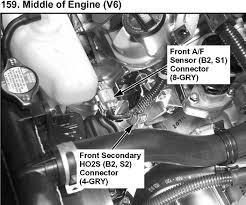 2005 Honda Cr V Engine Diagram 2003 Honda Accord Lx V6 3 0 Many O2 Sensors Does This Car Have