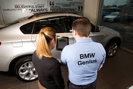 bmw car program bmw s car genius program inspires other manufactures to follow
