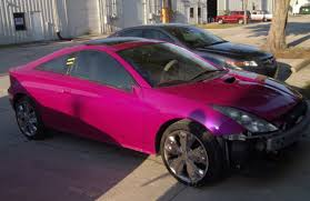 valerie u0027s 2002 toyota celica gt color change to hok pink