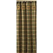 Green Plaid Shower Curtain Amazon Com Park Designs Wood River Shower Curtain 72 By 72