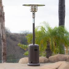 Fire Sense Hammer Tone Bronze Commercial Patio Heater by Belleze 48 000btu Patio Standing Heater Propane Csa Certified