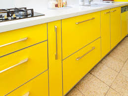 yellow kitchen wood cabinets yellow kitchen cabinets pictures options tips ideas hgtv