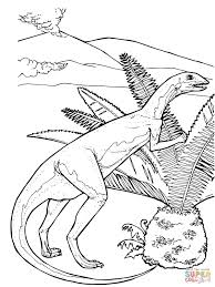 printable ornithischian dinosaurs dinosaurus coloring pages