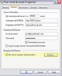 tips al utilizar outlook using outlook express with no ip alternate port smtp service