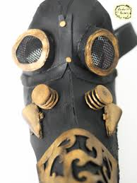 steampunk plague doctor u0027s mask on behance