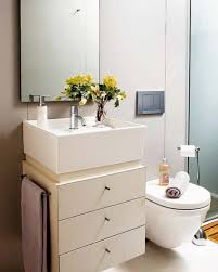simple retro small bathroom decorating ideas providing bathtub