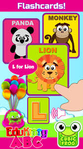 abc alphabet learning games kids edukitty abc app store