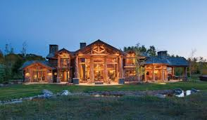 jackson hole handcrafted log home precisioncraft jackson county second floor plan rear elevation