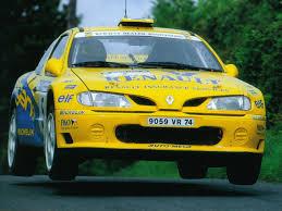 renault rally renault megane i maxi 1996 racing cars