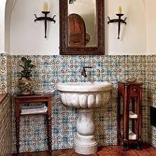 SPANISH BATHROOM DESIGN BATHROOM DESIGN Spanish Bathroom Decor TSC - Spanish bathroom design