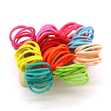 hair rubber bands 100pcs rubber hair bands ponytail holder elastic rope hair