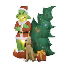 Air Blown Christmas Decorations Cozy Grinch Inflatable Christmas Decorations Christmas Decorations