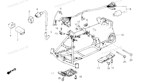 wiring diagram for honda trx 350 1986 honda fourtrax 350 wiring