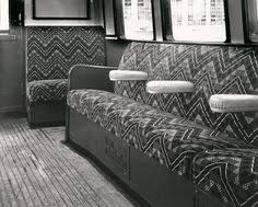 Dadds Upholstery The Original Underground Leaf Design 1930s Moquette Fabric