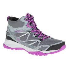 merrell womens boots sale womens merrell capra bolt mid waterproof hiking shoe at road
