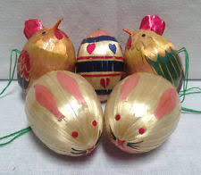 Vintage Easter Decorations On Ebay by Easter Ornaments Ebay