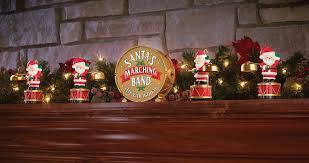 mr santa s marching band coordinated caroling