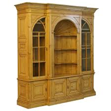 large english pine bookcase display cabinet for sale at 1stdibs