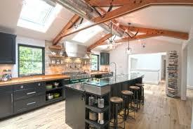 cuisine industrielle deco parfait cuisine industrielle deco vue patio in informations