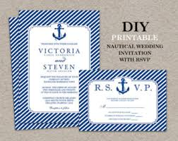 nautical themed wedding invitations wedding party mariage curated by clem around the corner on etsy