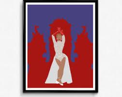 white christmas movie poster minimalist print bing crosby