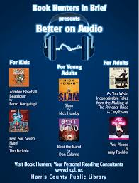 Audiobook For The Blind Audiobooks Harris County Public Library