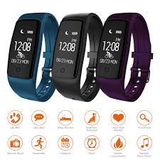 heart rate bracelet images Waterproof s1 smart bracelet heart rate monitor sport band watch jpg