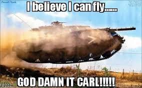 I Believe I Can Fly Meme - meme creator i believe i can fly god damn it carl meme