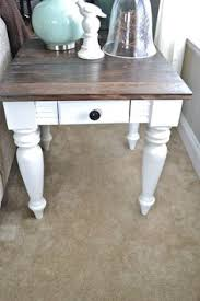 white wood end table this is a cool website how to make all the high priced stuff from